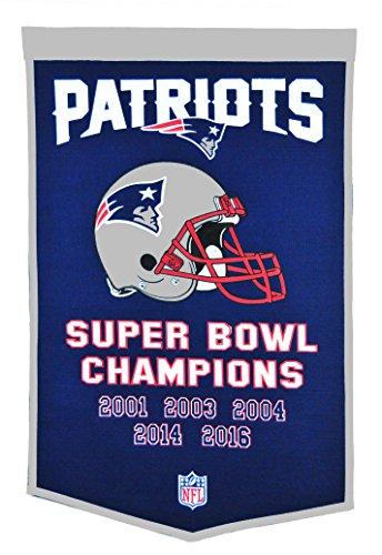 (Winning Streak NFL New England Patriots Dynasty Banner)