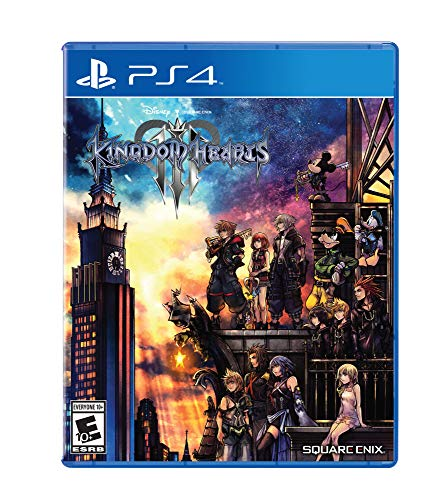 Scroll Heart - Kingdom Hearts III - PlayStation 4