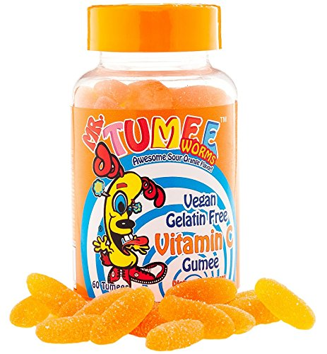 Mr. Tumee Vitamin C Gumee, Orange, 60 Count