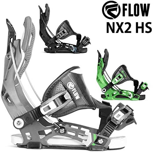 18-19흐름 FLOW NX2 HS 엔 빅스 맨 즈 레이디스 바인딩 바인딩 스노우보드 2019 L (25.5 ~ 29.5 cm) BLACK / 18-19 FLOW NX2 HS NX Men`s Women`s Binding Binding Snowboard 2019 L(25.5-29.5cm) BLACK