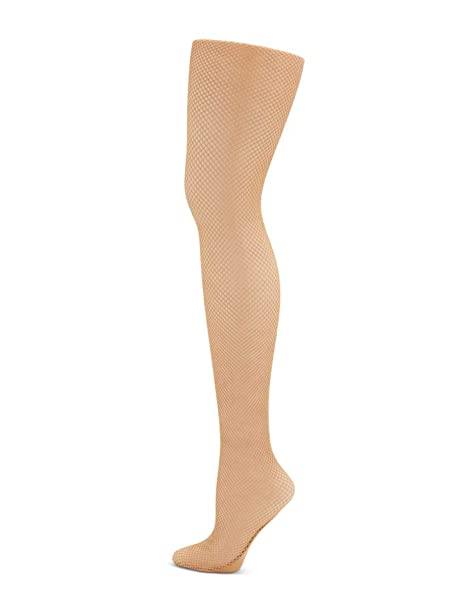 ed4c951ff Capezio Women s Professional Fishnet Seamless Tight at Amazon Women s  Clothing store  Nude Fishnet Tights