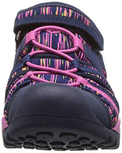 Pictures of Geox Borealis Girl 8 Sandal Navy/Fuchsia J820WA050EEC4268 5