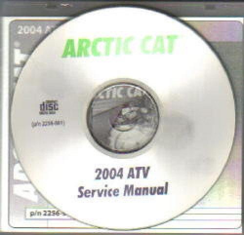 2256-961 2004 Arctic Cat ATV Service Manual Set pdf