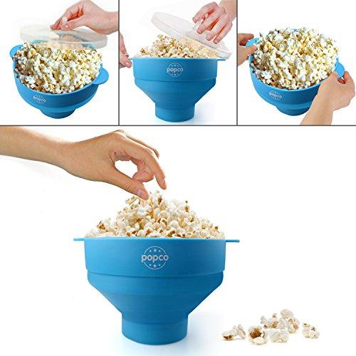 Тарелка POPCO Silicone Microwave Popcorn
