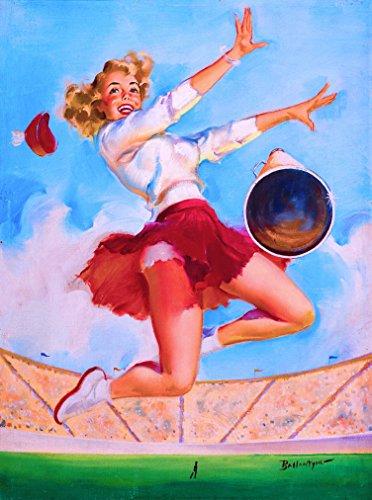 cheerleader poster vintage