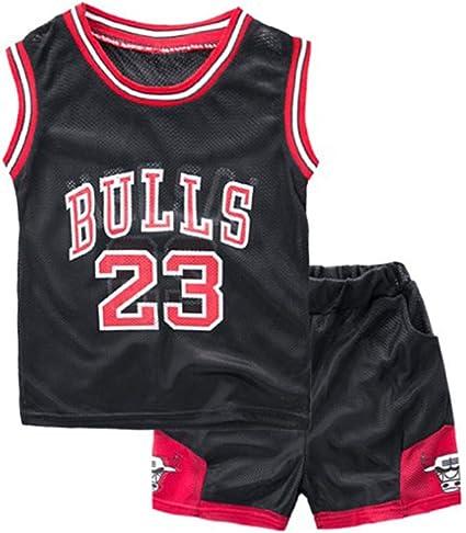 Neborn - Conjunto de ropa de verano para niños y niñas, uniforme de baloncesto, traje de entrenamiento para bebés, 2 piezas: Amazon.es: Belleza