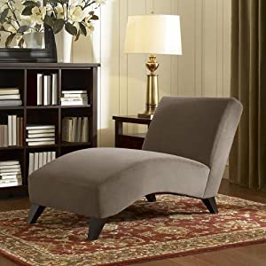 Contemporary Taupe Chaise This Modern Chaise Lounge Chair Is The Perfect Piece Of