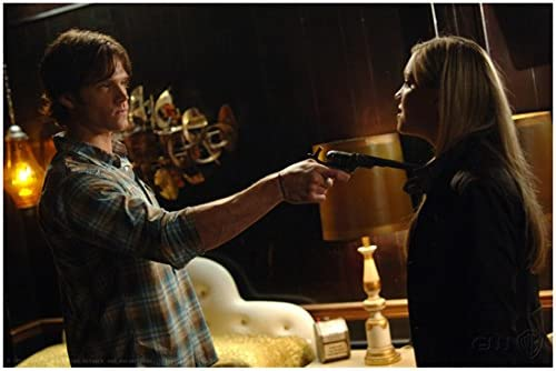 Supernatural Jared Padalecki as Sam Winchester Arms Pointing Straight to  Katie Cassidy as Ruby Close Up Shot 8 x 10 Inch Photo at Amazon's  Entertainment Collectibles Store