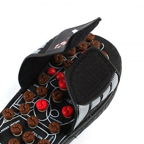 Fuß-Massage-Fussreflexzonenmassage-Sandalen mit Akupressurpunkte