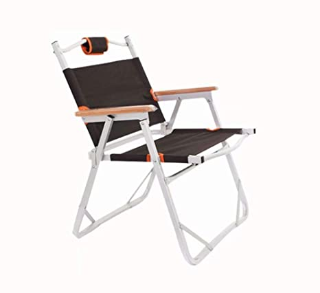 Amazon.com: Silla de pesca, tela Oxford, silla plegable al ...