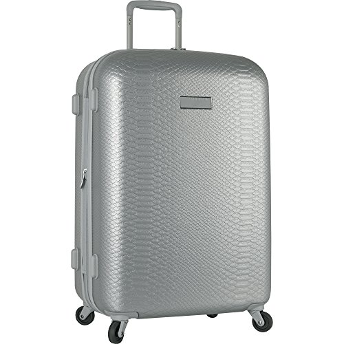 Anne Klein 20' Hardside Carry On Spinner Luggage, Silver