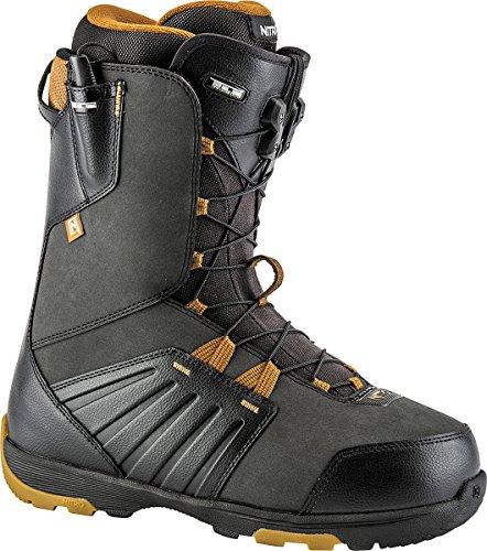 - Nitro Thunder TLS Boots, Men, Men, 848408_305_Black-Whiskey, Black (Black/Whiskey), 305