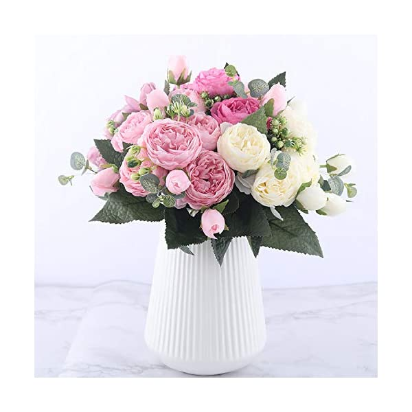 You-Are-My-Eye-30cm-Rose-Pink-Silk-Peony-Artificial-Flowers-Bouquet-5-Big-Head-4-Bud-Fake-Flowers-Home-Wedding-DecorationPink