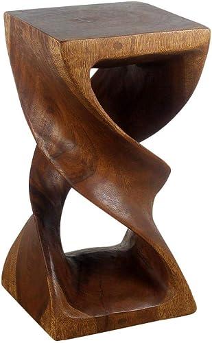 Haussmann Wood Double Twist Stool Table 12