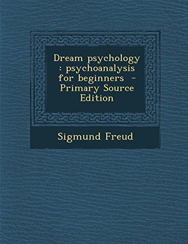 Dream Psychology By Sigmund Freud Pdf