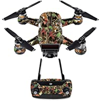 Skin for DJI Spark Mini Drone Combo - Buck Camo| MightySkins Protective, Durable, and Unique Vinyl Decal wrap cover | Easy To Apply, Remove, and Change Styles | Made in the USA