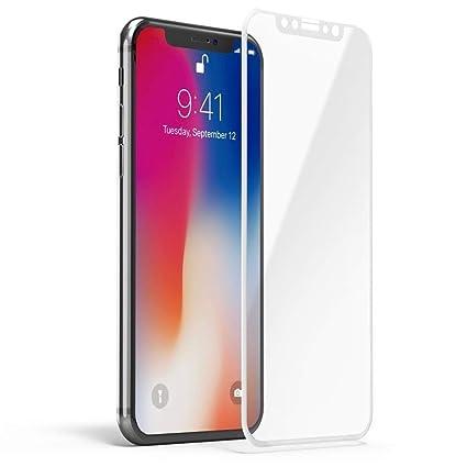 fc05f6be499 iPhone X Protector de pantalla, voroar [9H Dureza] iPhone X Vidrio templado  iphone