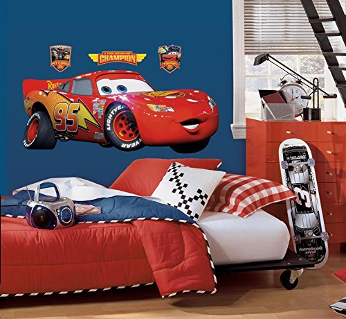 American Standard STKR.001 Lightning McQueen Decal Set by Roomates Wallcovering Primary