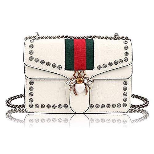 White Designer Handbags - 4