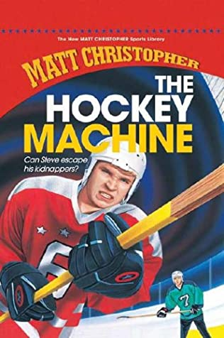 book cover of The Hockey Machine