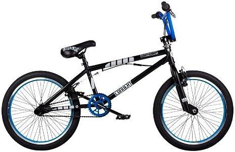 Barracuda Convert - Bicicleta Infantil BMX para niño, para Todas Las Medidas a Partir de 135 cm, Color Negro/Azul: Amazon.es: Deportes y aire libre