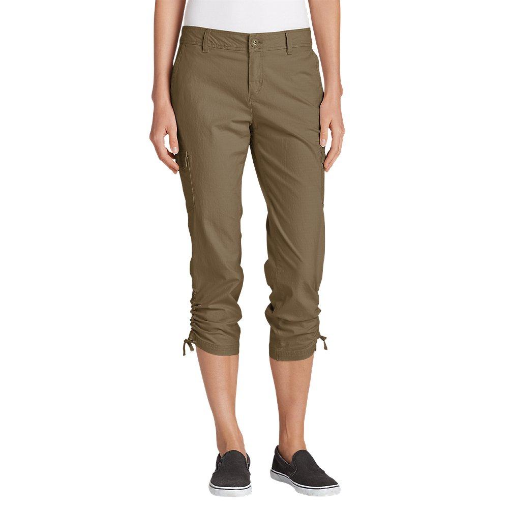 Eddie Bauer Women's Adventurer Stretch Ripstop Crop Cargo Pants - Slightly Curvy