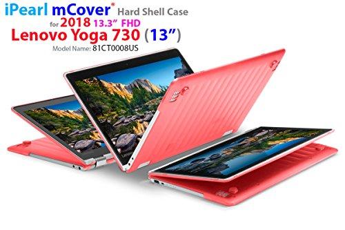 "mCover iPearl Hard Shell Case for New 13.3"" Lenovo Yoga 720 (13) Laptop (RED)"