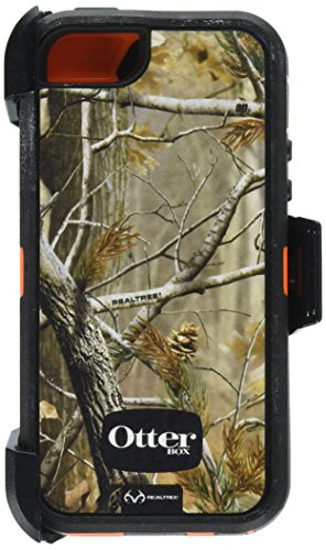 OtterBox Defender Series Case for iPhone 5 5S - Realtree Camo - Max 4HD Orange