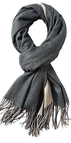 MaaMgic Womens Soft Cashmere Feel Pashmina Shawls Wraps Large Long Winter Scarf by MaaMgic (Image #1)