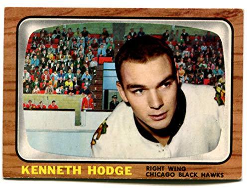 Topps 1966/67 Ken Hodge Card #114 Chicago Black - 67 Ken