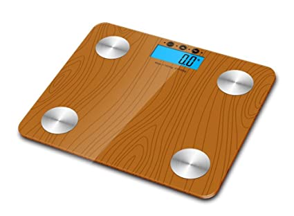 Sweety – Casa 180 kg DIGITAL de grasa corporal báscula de baño de cristal Agua hueso