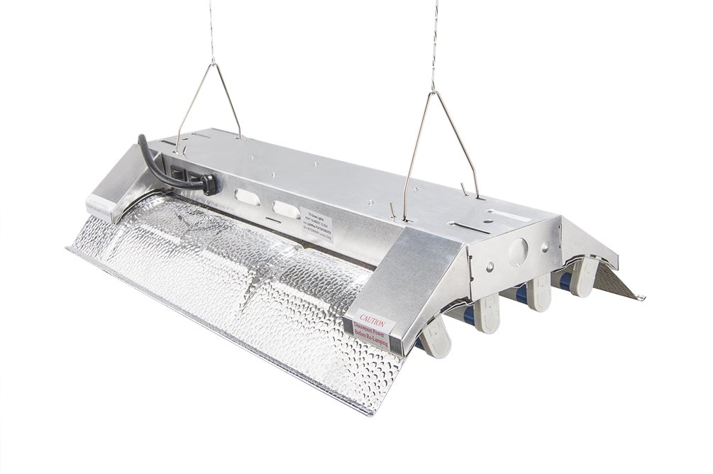 T5 Grow Light (2ft 4lamps) DL824 Ho Fluorescent Hydroponic Bloom Veg Daisy Chain with Bulbs by DuroLux (Image #5)
