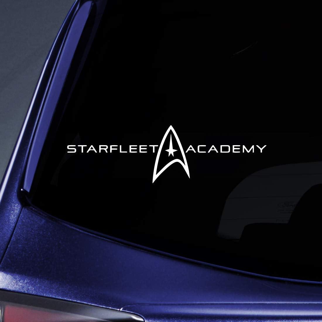 Bargain Max Decals - Starfleet Academy Alumni Federation Sticker Decal Notebook Car Lapto