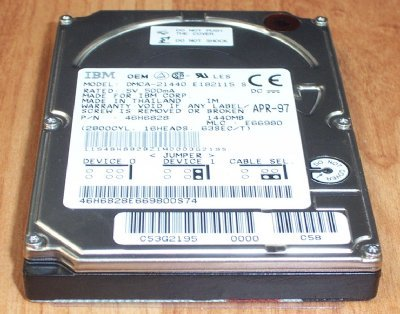 - 07N4117 Ibm 10Gb 5400Rpm 2Mb 3.5Inch Ata-100 Hard Drive