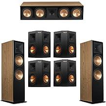 Klipsch 7.0 Cherry System with 2 RF-7 III Floorstanding Speakers, 1 RC-64 III Center Speaker, 4 Klipsch RP-250S Surround Speakers