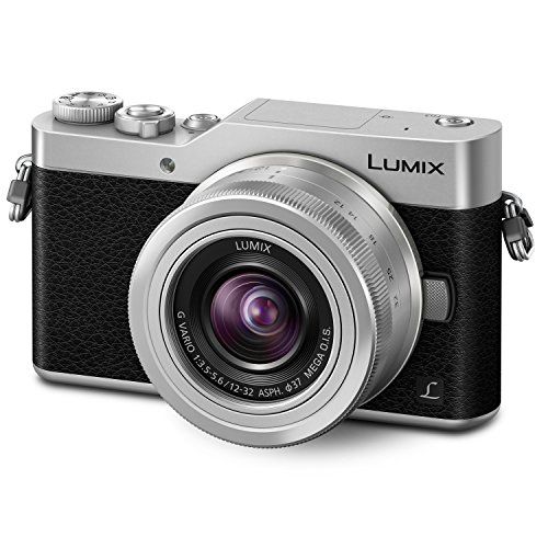 PANASONIC LUMIX GX850 4K Mirrorless Camera with 12-32mm MEGA O.I.S. Lens, 16...