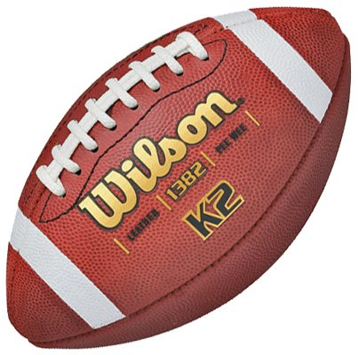 Wilson K2 Traditional Leather Game Footballs - K2 Leather Football