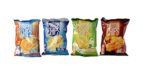 Quest Nutrition Proteínas Chips, variedad Pack incluyendo ...