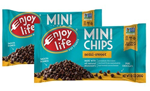- Enjoy Life Semi-sweet Chocolate Mini Chips Pck of 2 (Packaging may vary)