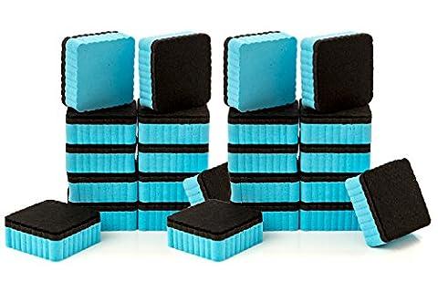 24-Pack of Premium Magnetic Dry Erase Erasers / Dry Erasers - 2