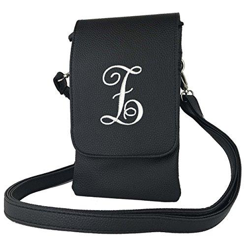 Cell Womens Phone Charm14 Cross letter Bag Black body Z Phones Cross body handbags all Fits Hudson rIdqdR