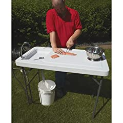 Fish Cleaning Camp Table