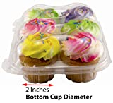 Katgely Cupcake Boxes Cupcake Containers & Mini