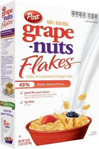 Breakfast Cereal: Grape Nuts Flakes
