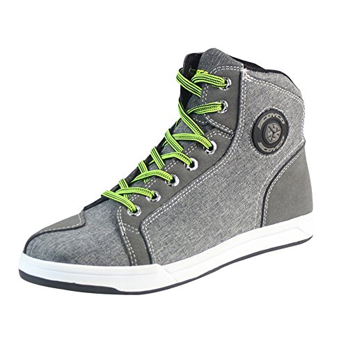Men's Lace Up Casual Motorcycle Boots