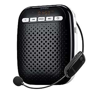 voice amplifier shidu s718 uhf wireless voice amplifier for teachers 10w portable pa. Black Bedroom Furniture Sets. Home Design Ideas
