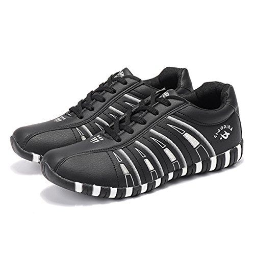 gracosy Women's Trail Running Shoes Casual Sneaker Lace-up Sport Shoes Breathable Flat Shoes Comfortable Walking Shoes Gym Athletic FitnessTennis Shoes Footwear Black bIbEuKC4J