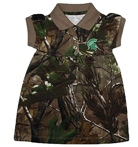 Creative Knitwear Michigan State Spartans NCAA Newborn Baby Camouflage  Dress (12 Months) 34a6636d7