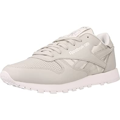 13fc20a5cbd Reebok Women s Classic Leather Fbt Low-Top Sneakers  Amazon.co.uk ...