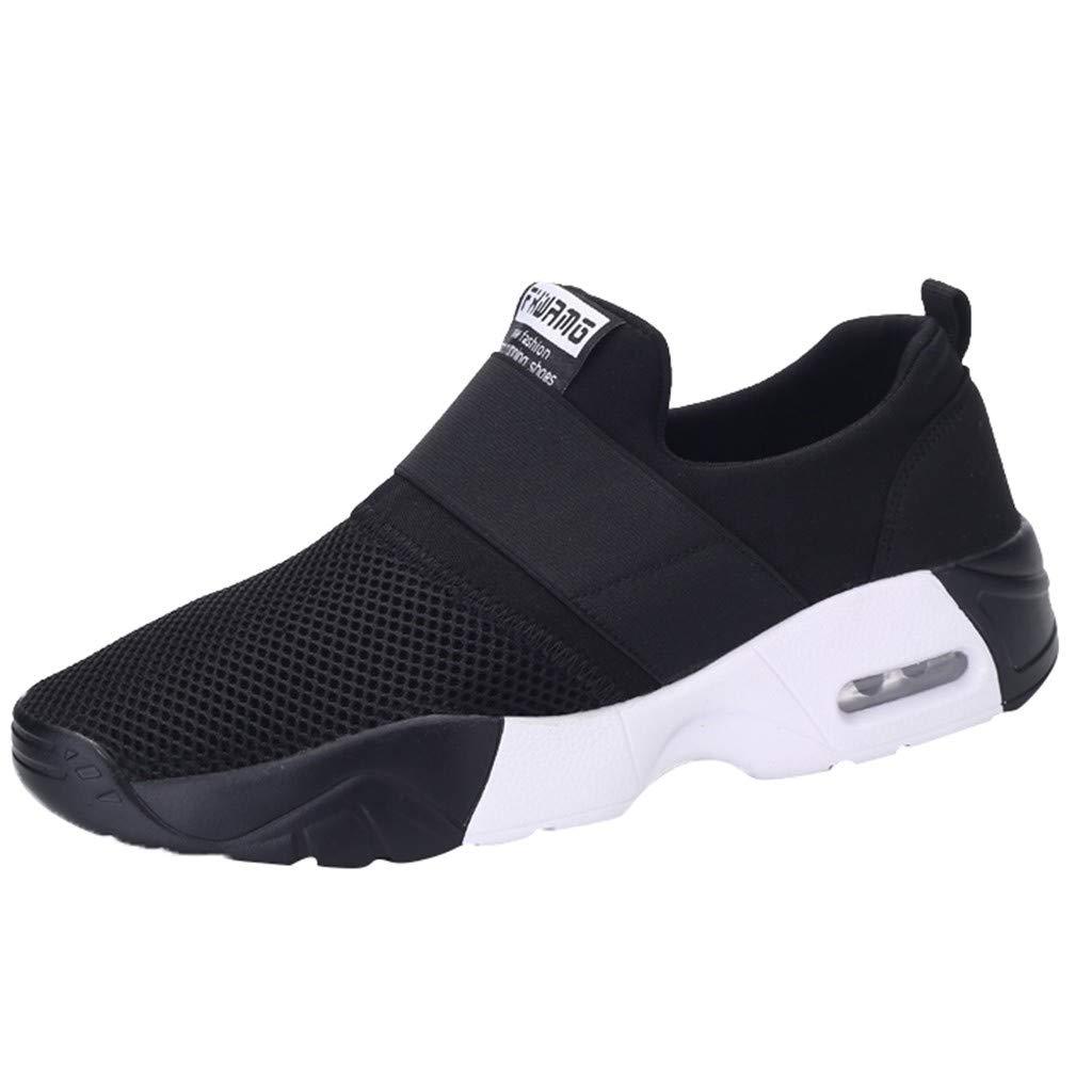 LILIGOD Herren Frauen Breathable Sneakers Mesh Lässige Turnschuhe Running Travel Outdoor Sportschuhe Paar Sneaker Schuhe Slip-On Mesh Weicher Boden Laufschuhe Freizeitschuhe